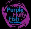 Purple Fluffy Fish