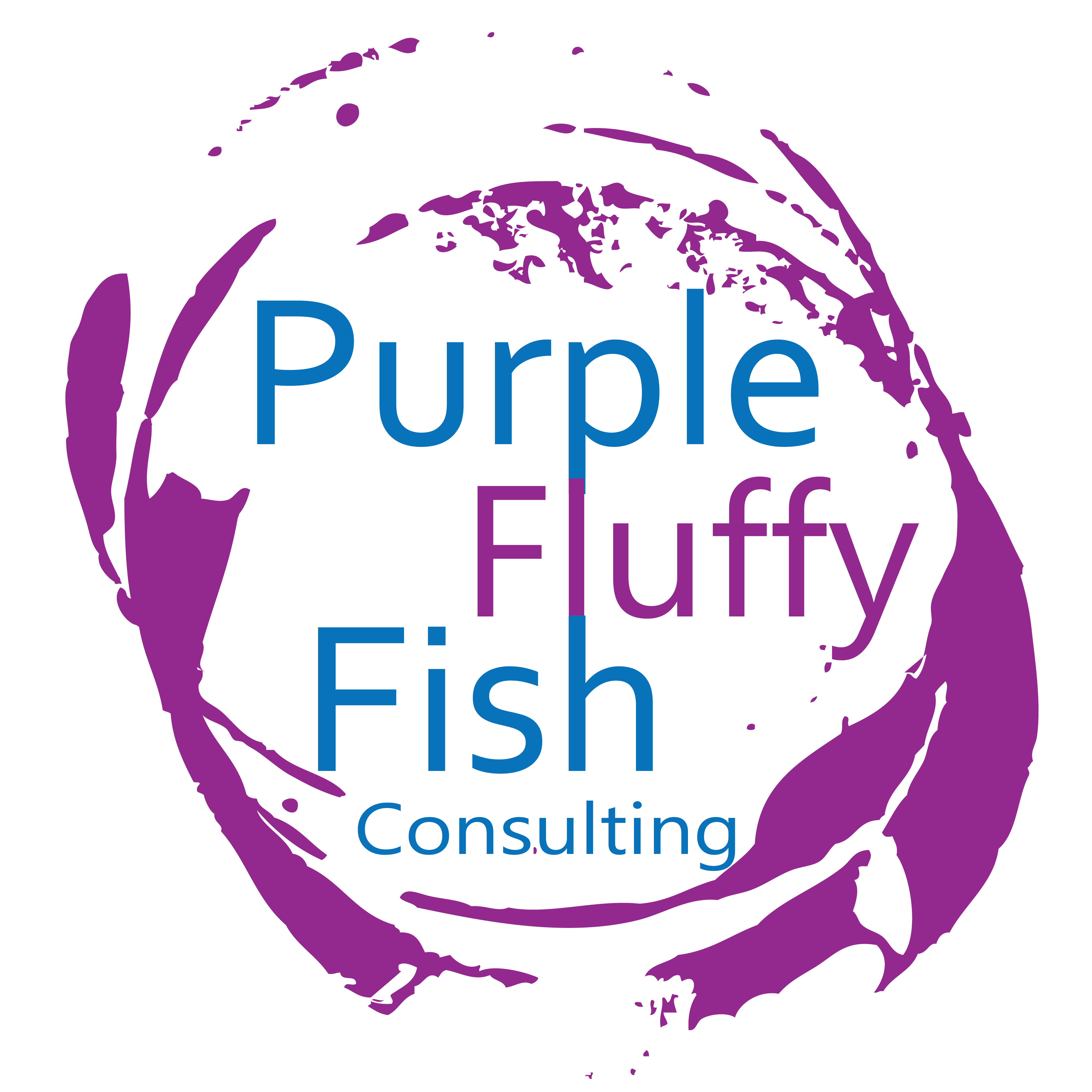 Purple Fluffy Fish